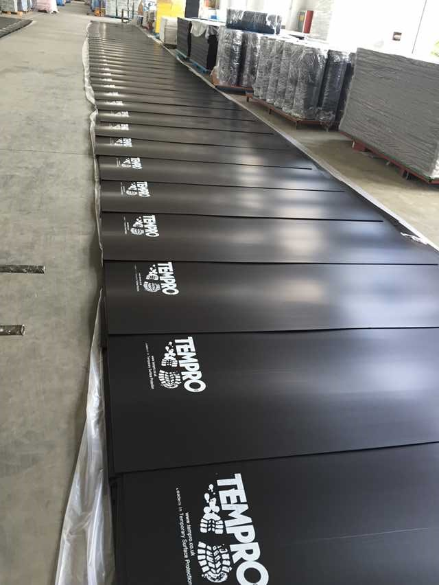 Prices Reduced For Correx Corrugated Plastic Floor Protection