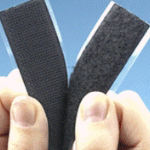 Hook and Loop Fastener Adhesive Black
