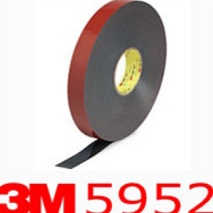 3M® 5952 VHB Double Sided Acrylic Foam Tape 12mm x 1mm x 33m