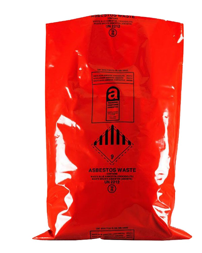 "Asbestos Removal Sack / Bag 900MM X 1200MM (36"" x 48"")"