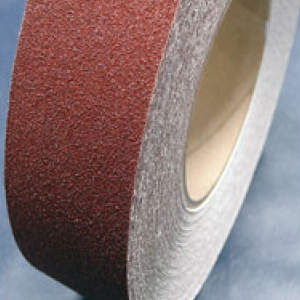 Anti Non Slip Skid Grip Tape Self Adhesive Brown 100mm x 18m