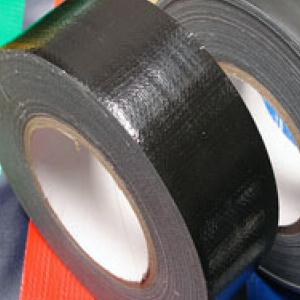 "Pro Grade Gaffer Tape Gloss Finish Easy Peel Peelable Low Tack 2"" x 50 Black"