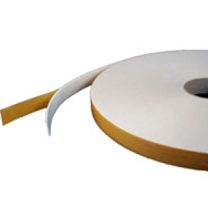 Double Sided Foam Tape High Tack White 25mm x 1mm x 25m