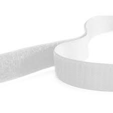 Rip 'n' Grip Tape LOOP White Sew-on 16mm x 25m