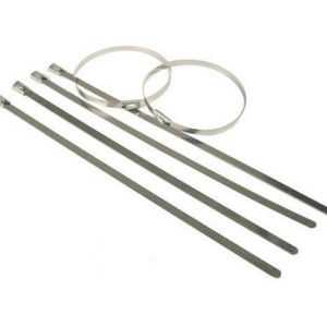 Stainless Steel Cable Ties (Pack of 100) 7.9mm x 680mm