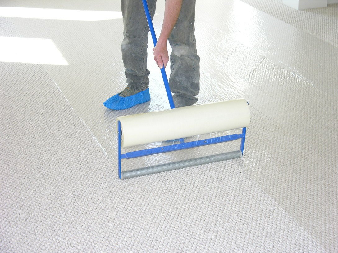 Sticky Shield® Carpet & Floor Protection Film Dispenser 1200mm (dust sheet)