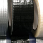 "Cloth / Gaffa / Gaffer Tape Adhesive Black 4"" x 45m"