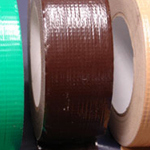 "Cloth Tape Adhesive Dark Brown 3"" x 45m"