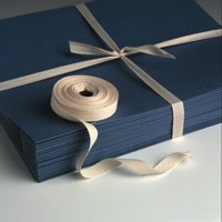 Cotton Tie Tape 20mm x 100m Natural Unbleached (20 rolls)