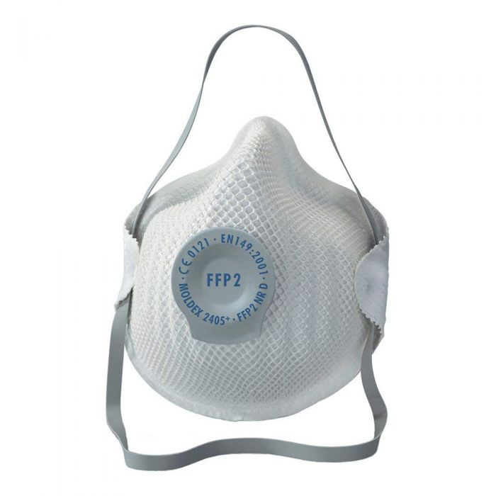 Flu Cold Virus Valved Particulate Respirator (DRP2V) FFP2 (5 Masks)