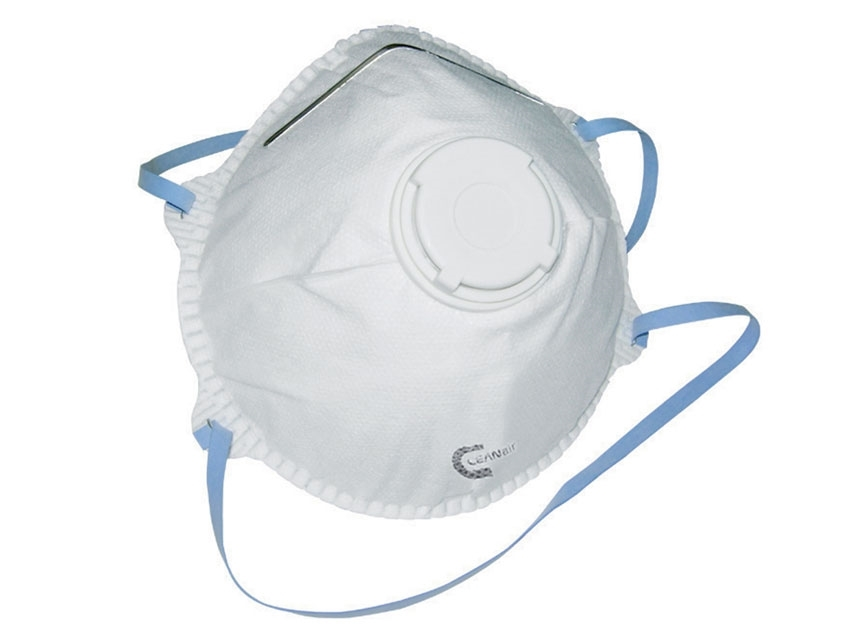 Flu Virus Face Mask N95 Valved Particulate Respirator (DRP2V) FFP2 (5 Masks)