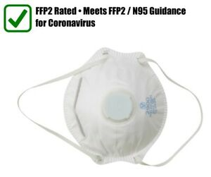 Coronavirus FFP2 N95 Flu Virus Respirator Valve Single Mask