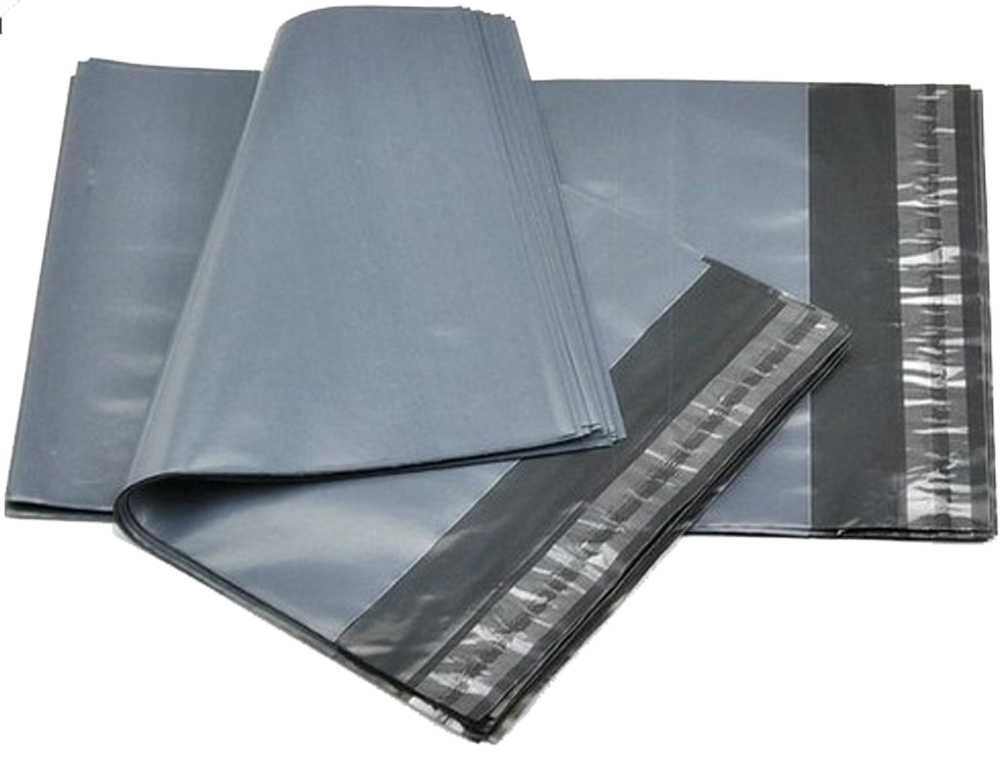 Grey Polythene Mailers 350mm x 500mm