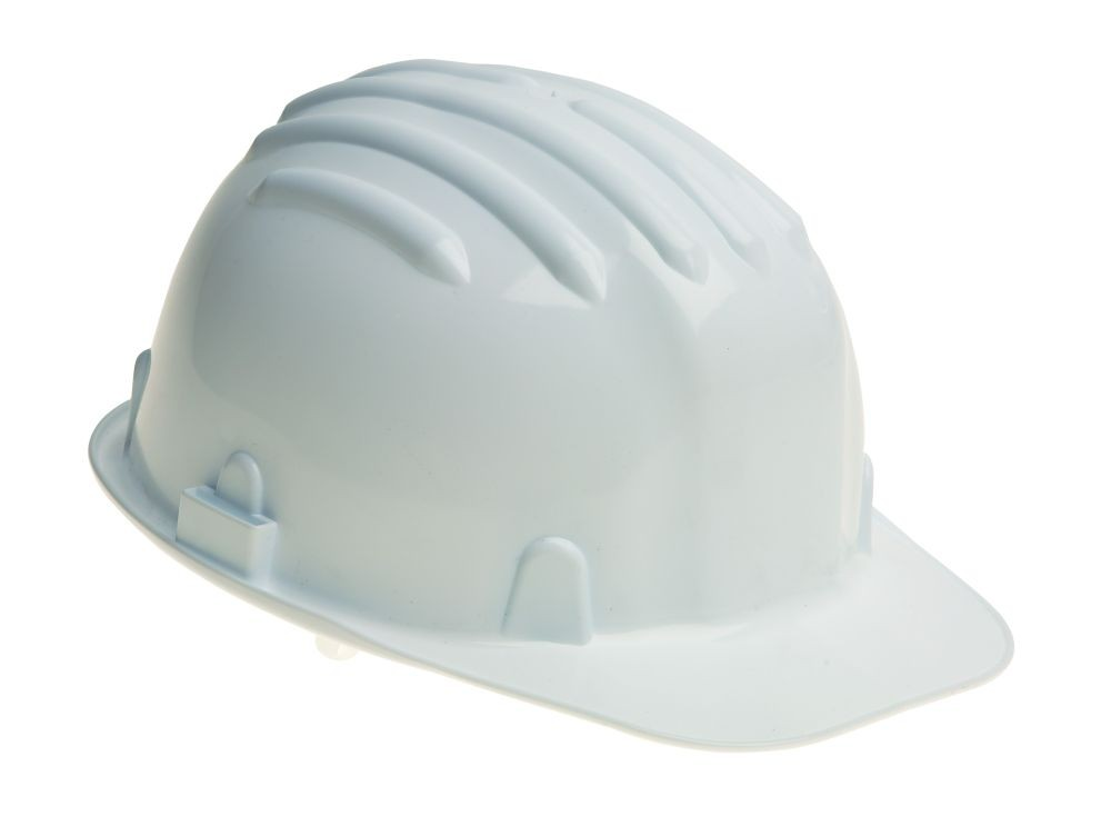 Venitex Zircon 1 White Hard Hat / Safety Helmet