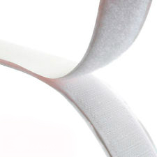 Rip 'n' Grip Tape LOOP White High Tack Rubber Adhesive 30mm x 25m