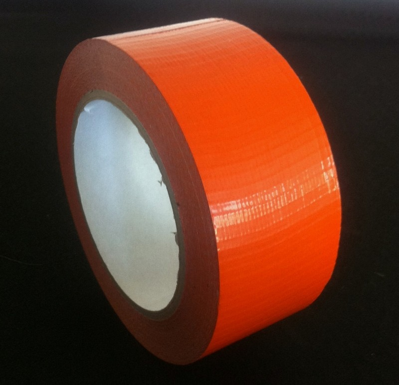 "Cloth Tape Adhesive Orange 3"" x 45m"