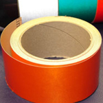 Reflective Tape Self Adhesive Orange 25mm x 10m