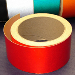 Reflective Tape Self Adhesive Red 25mm x 10m
