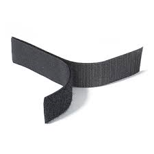 Rip 'n' Grip Tape HOOK Black Sew-on 16mm x 25m