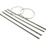 Stainless Steel Cable Ties (Pack of 100) 7.9mm x 200mm