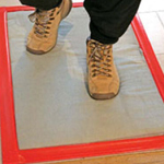 Heavy Duty Cotton Tack Mat and Frame