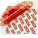 TAMPERSAFE Tamper Evident Security Labels Red