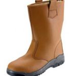 Tan Safety Rigger Boot Size 6