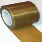 Teflon PTFE Glass Coated Cloth High Temperature Non Stick Tape 50mm x 0.13mm x 10m