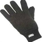 Black Thinsulate Lined Woollen Glove (12 pairs)